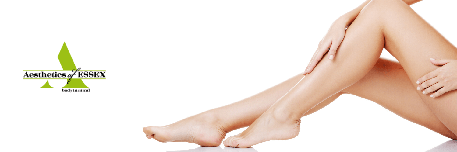 woman's legs after laser hair removal - a leading beauty treatment of 2020